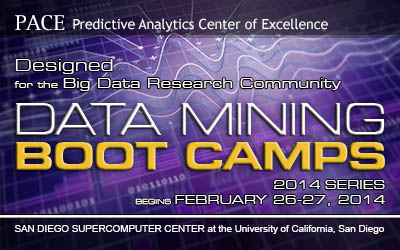 PACE: Data Mining Boot Camps